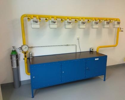 Natural gas closed loop calibrationbench at CMI
